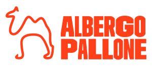 Logo-albergo-pallone-compatto-cammello